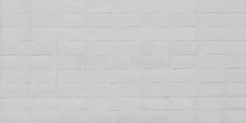 White brick wall background and texture royalty free stock images