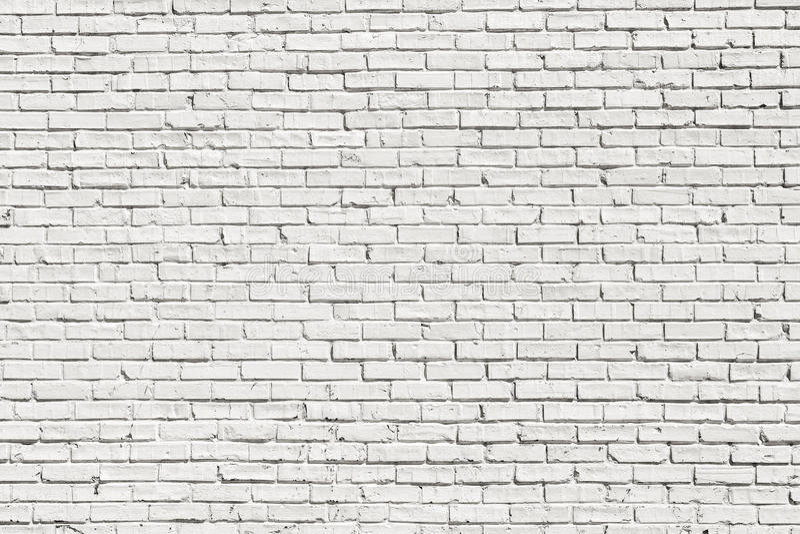 White brick wall royalty free stock photography