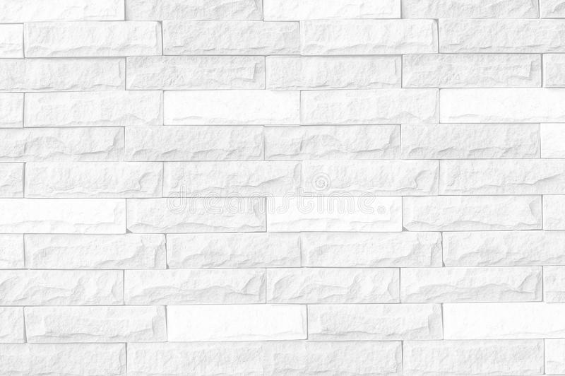 White brick wall background/white brick wall texture of modern ideal for background and used in interior design. White brick wall texture of modern ideal for royalty free stock photography