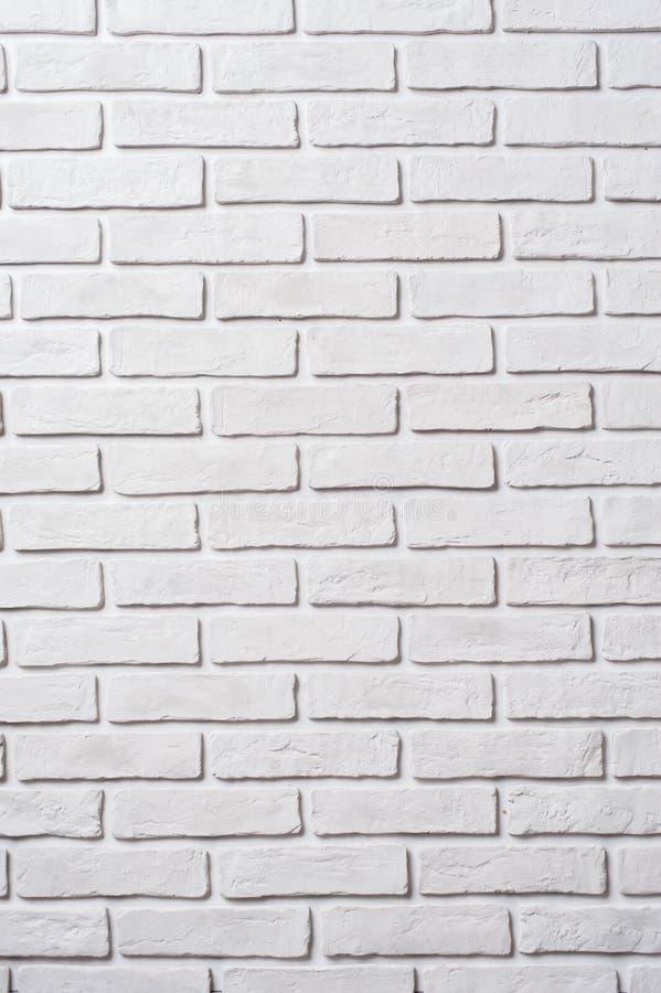 White brick wall. Block background royalty free stock photo