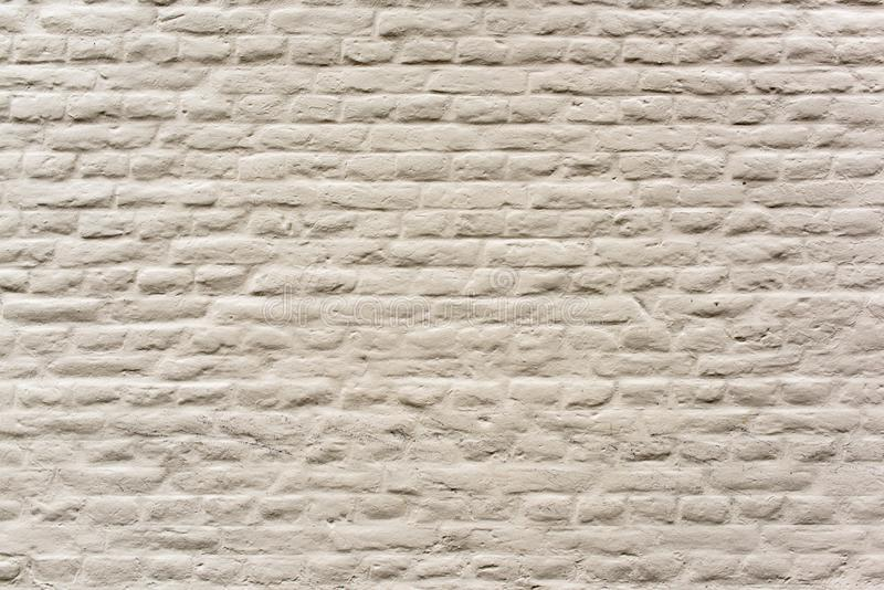 White brick wall - close up stock photo