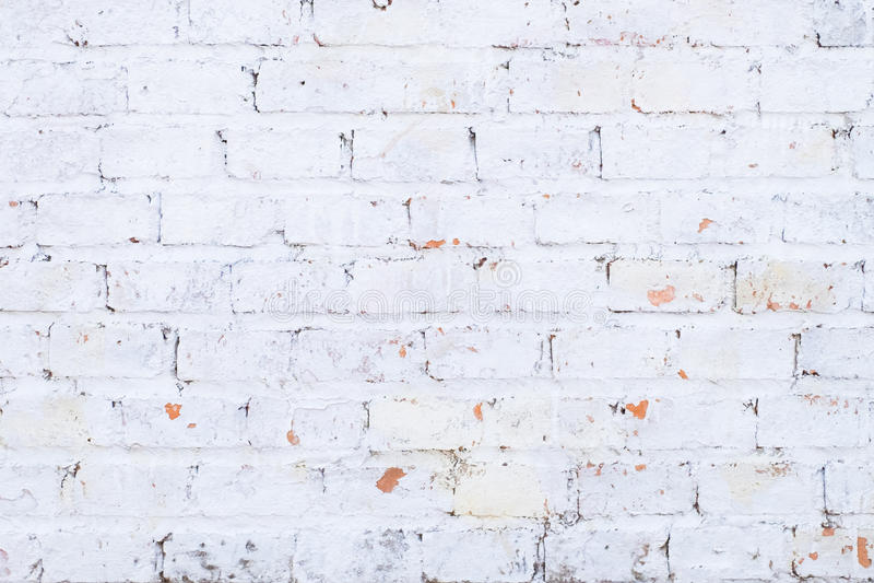 A white brick wall royalty free stock photo