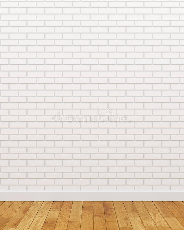 White brick wall. Picture of empty white brick wall royalty free illustration