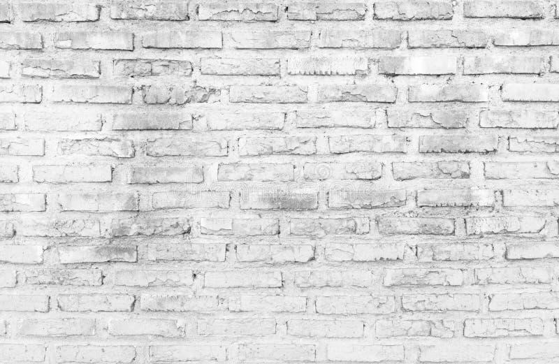 White brick wall texture background stock photos
