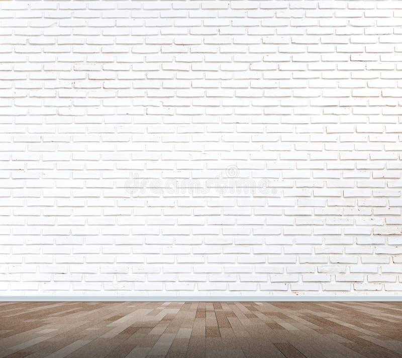 White brick wall texture. Background stock photos