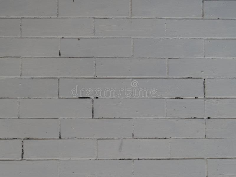 White brick wall background texture royalty free stock images