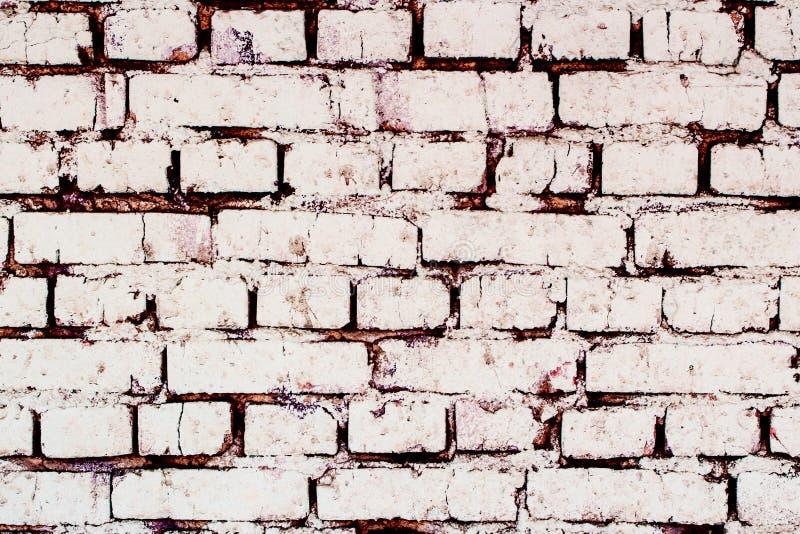 White brick wall. texture stock photo