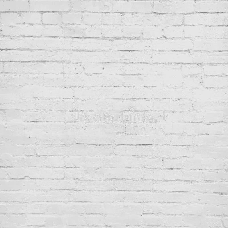 White  brick wall, vector background. Brick wall painted white, vector background texture stock illustration