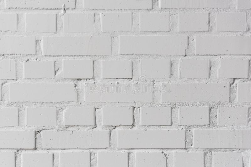 White bricks wall texture background royalty free stock photo