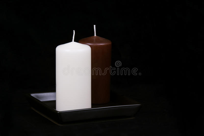 Download White and Brown candles stock image. Image of healthy - 36731563