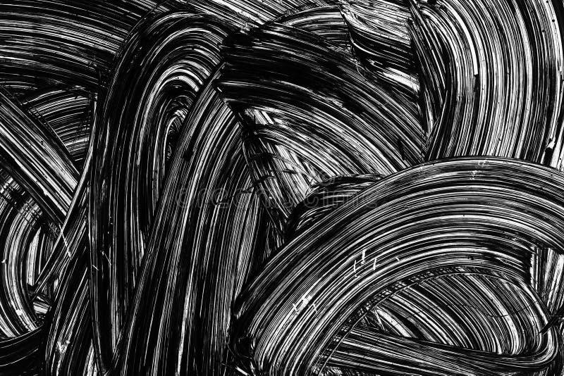 White brush strokes paint pattern royalty free stock photos