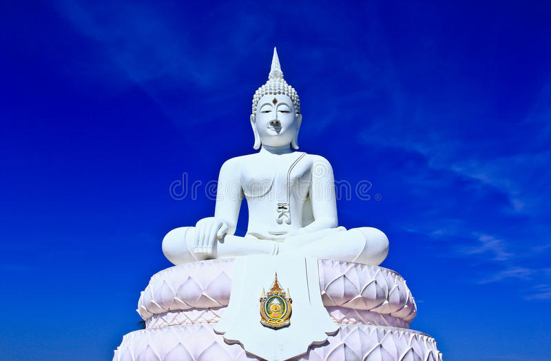 Download White buddha in the sky stock photo. Image of colorful - 33068744