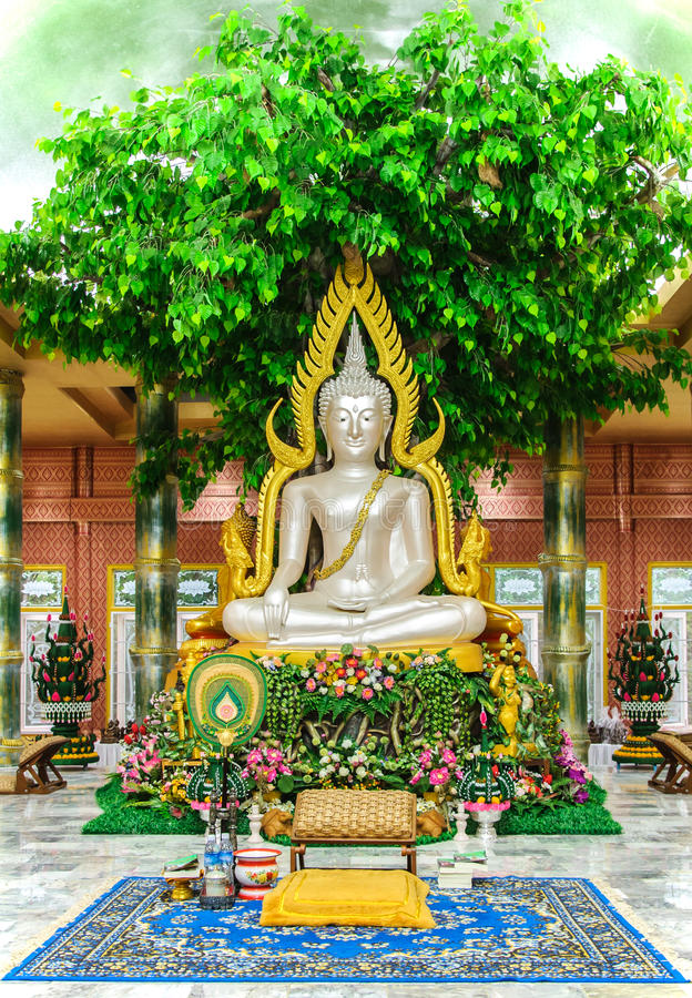 Download White Buddha statue stock photo. Image of architecture - 25217130