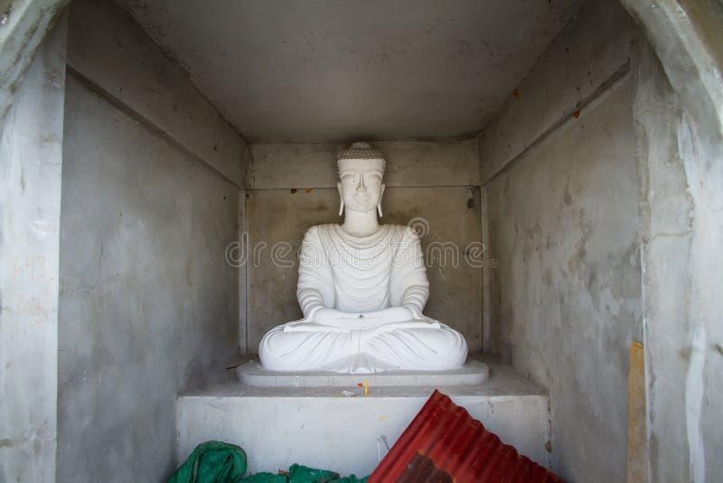 Download White Buddha Statue In Bodhgaya Stupa Or Phuthakaya Pagoda At Sa Stock Photo - Image of faithful, buddha: 83705336