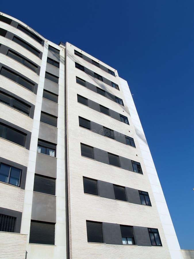 White building stock photo