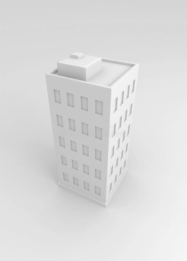 Download White Building stock illustration. Image of development - 5795575
