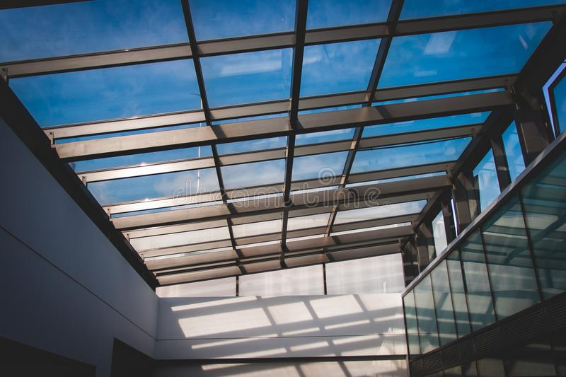White Building Interior royalty free stock photography