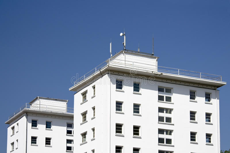 Download White buildings stock photo. Image of horizontal, rise - 14578924