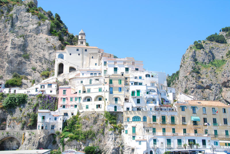 Italian cost royalty free stock images