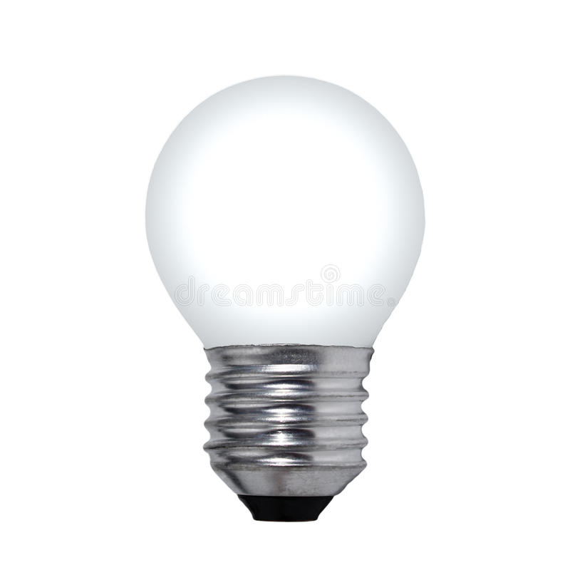 Download White bulb stock photo. Image of white, isolated, bulb - 32739462
