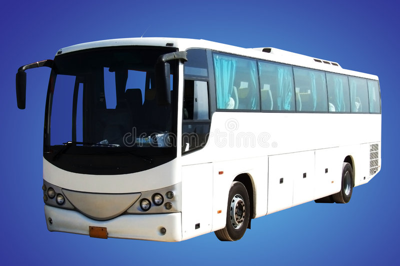 Download White Bus Stock Images - Image: 3898304