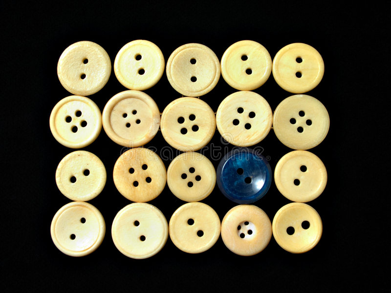 White buttons ornament 1 royalty free stock photo