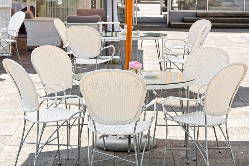 Merveilleux Download White Cafe In Warsaw Stock Photo. Image Of Holiday, Furniture    23448964