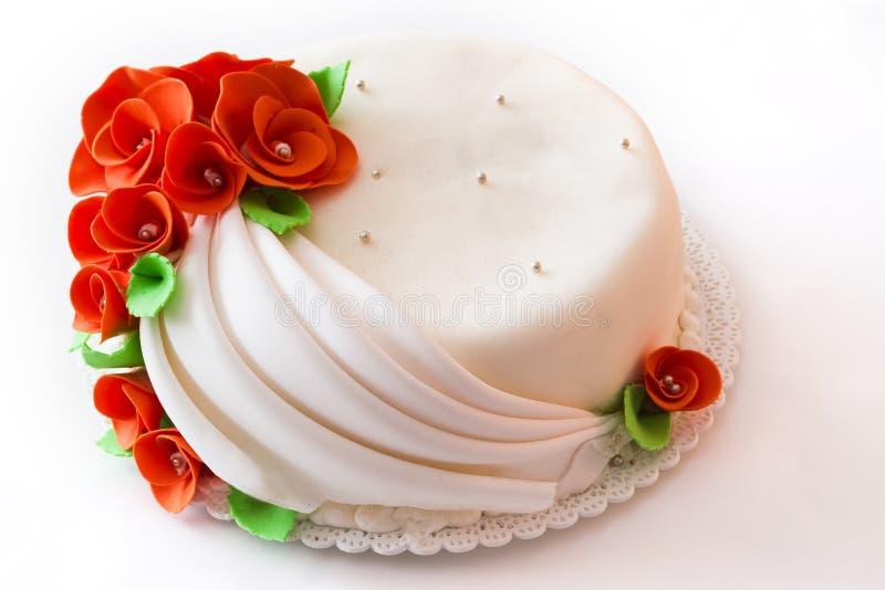 White cake royalty free stock image