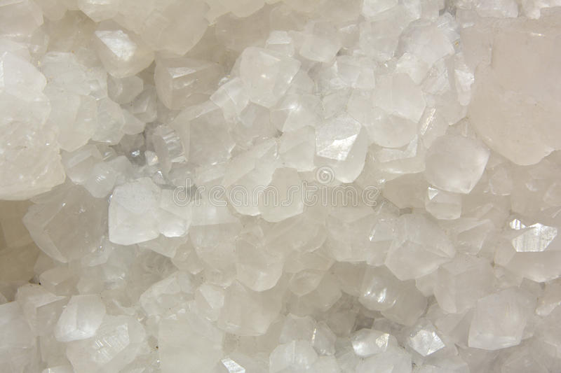 White Calcite mine. Background in color and shape of calcite mine, shown as beautiful and featured color, pattern and texture stock images