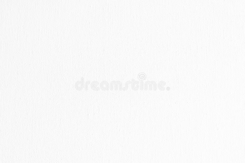 White canvas fabric texture background royalty free stock photos