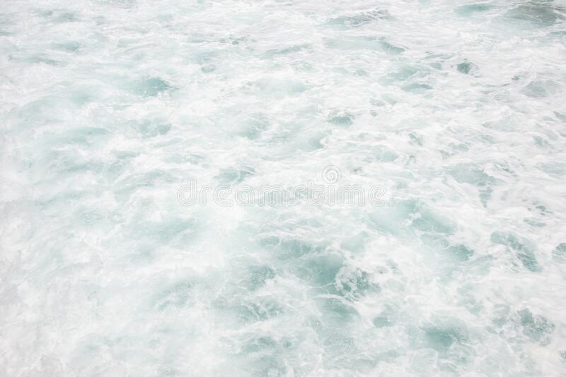 White Caps of Ocean Waves Crashing at the Seashore. Lots of White Caps of Ocean Waves Crashing at the Seashore in South Florida stock photography