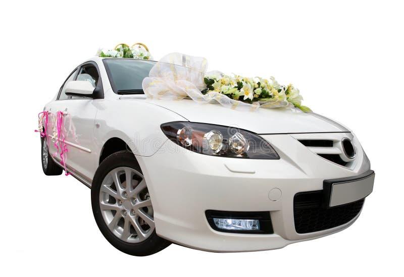 White Car 2 royalty free stock photos
