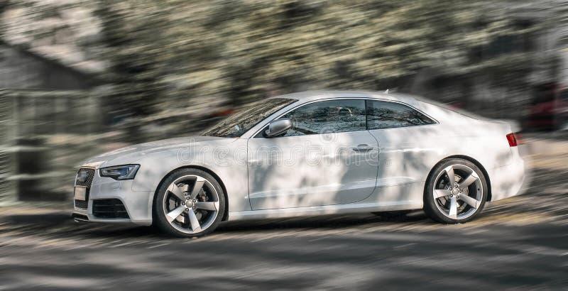 White car. stock photo