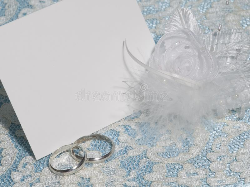 White card for congratulation