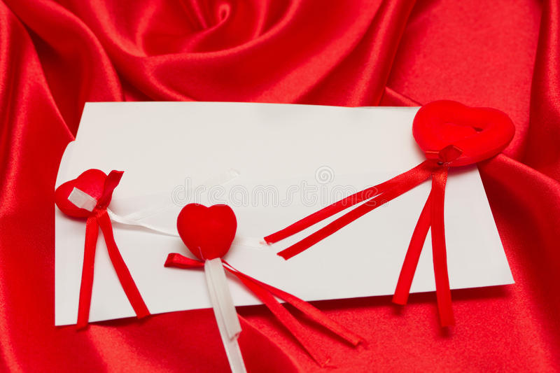 Download White Card For Congratulation Stock Photo - Image: 22294232