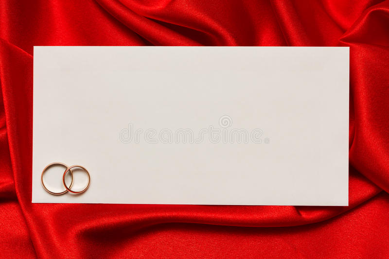 Download White Card For Congratulation Stock Photography - Image: 22294342