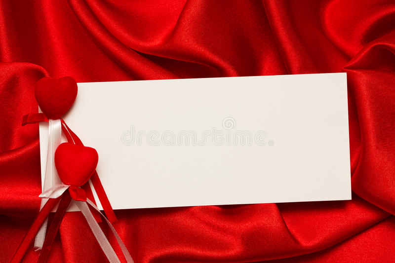 Download White Card For Congratulation Stock Photo - Image: 22445900