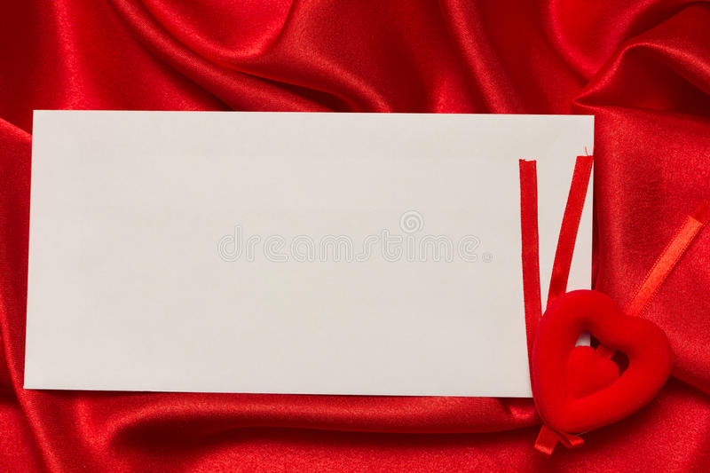 Download White Card For Congratulation Stock Image - Image of white, ribbon: 22445935