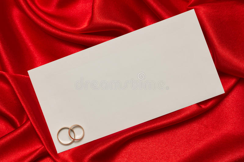 Download White Card For Congratulation Stock Image - Image: 22445977