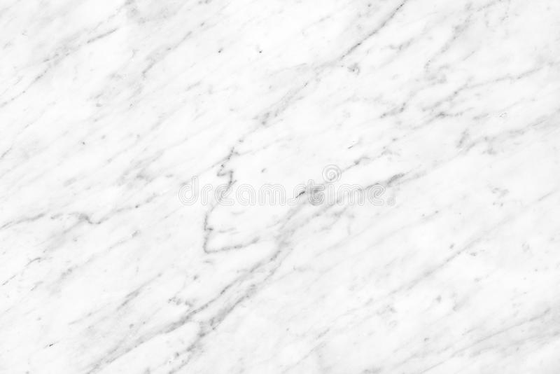 White Carrara Marble natural light surface for bathroom or kitchen countertop royalty free stock images