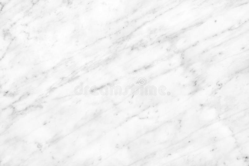 White Carrara Marble natural light surface for bathroom or kitchen countertop stock image
