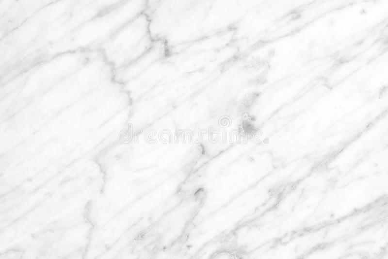 White Carrara Marble natural light surface for bathroom or kitchen countertop royalty free stock image
