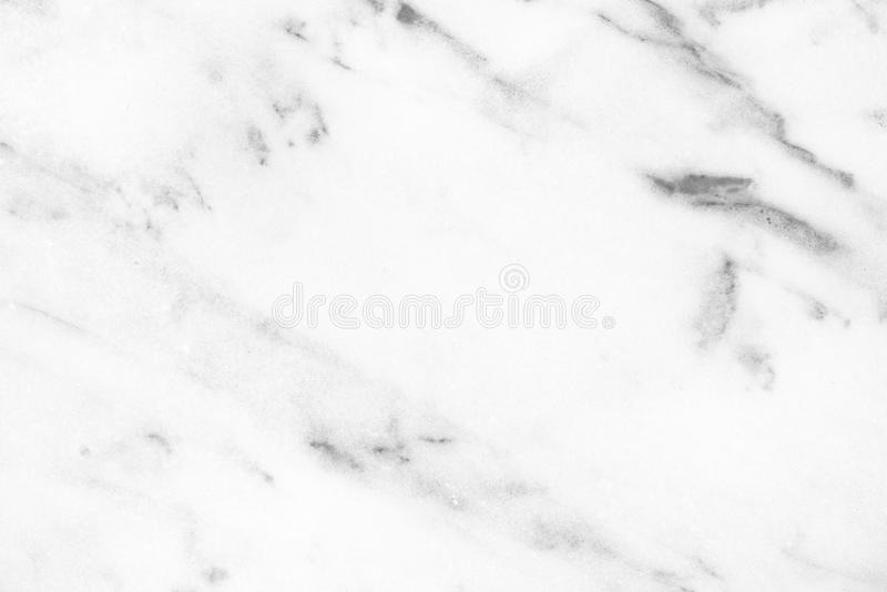 White Carrara Marble natural light surface for bathroom or kitchen countertop stock images