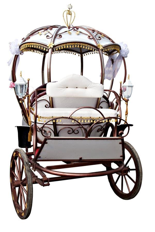 Free White Carriage Stock Photo - 5322100