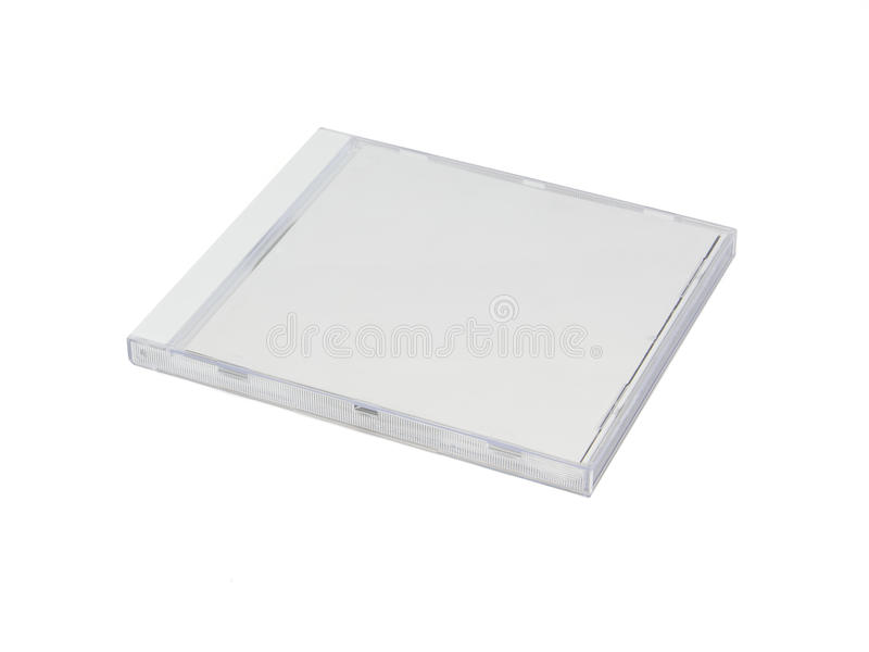 White CD Case Stock Photo