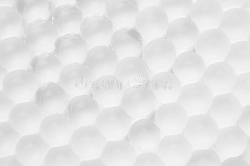 White cells abstract background of transparent bubbles. White cells abstract background of transparent bubbles stock photography