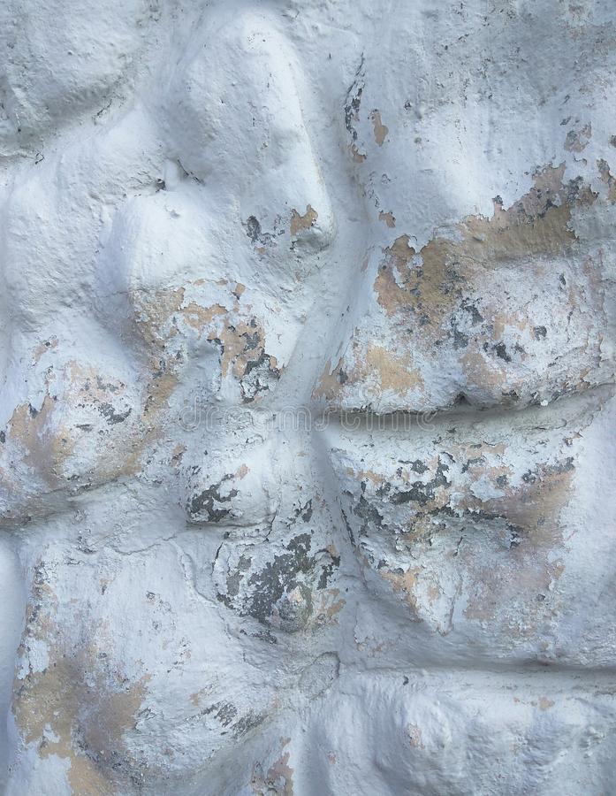 White cement texture stone concrete,rock plastered stucco wall painted flat fade pastel background white grey solid royalty free stock photos