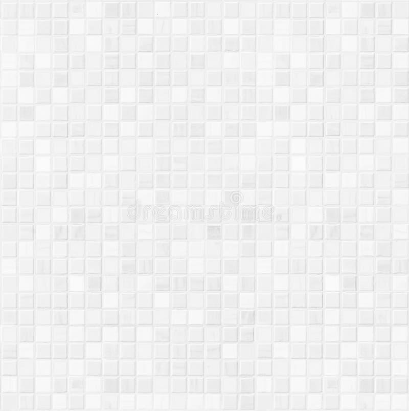White ceramic bathroom wall tile pattern. For background stock image