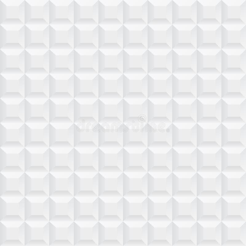 White ceramic cubes texture - seamless. White ceramic cubes texture - seamless vector background vector illustration