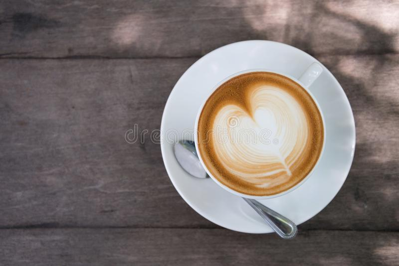 White Ceramic Cup on Saucer royalty free stock photography
